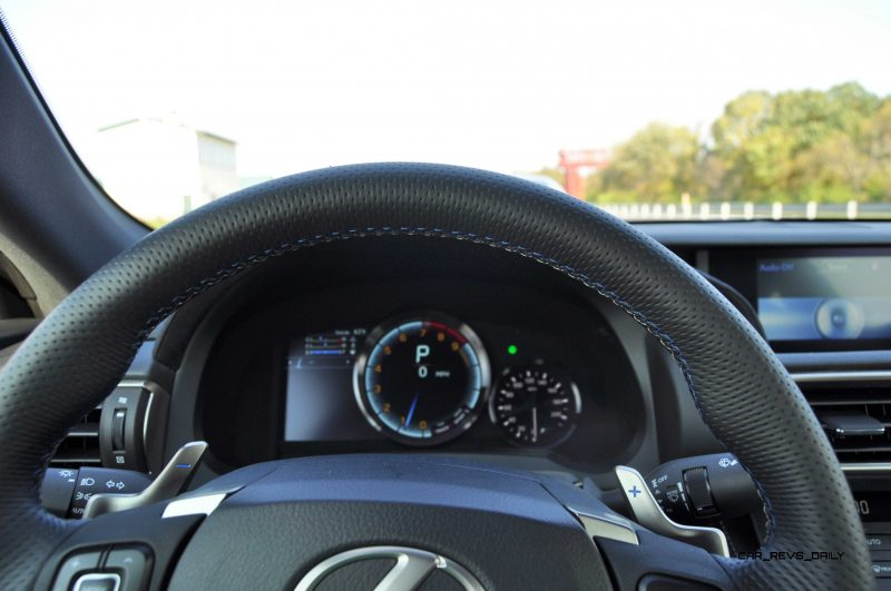 Track Drive Review - 2015 Lexus RCF Is Roaring Delight Around Autobahn Country Club 34