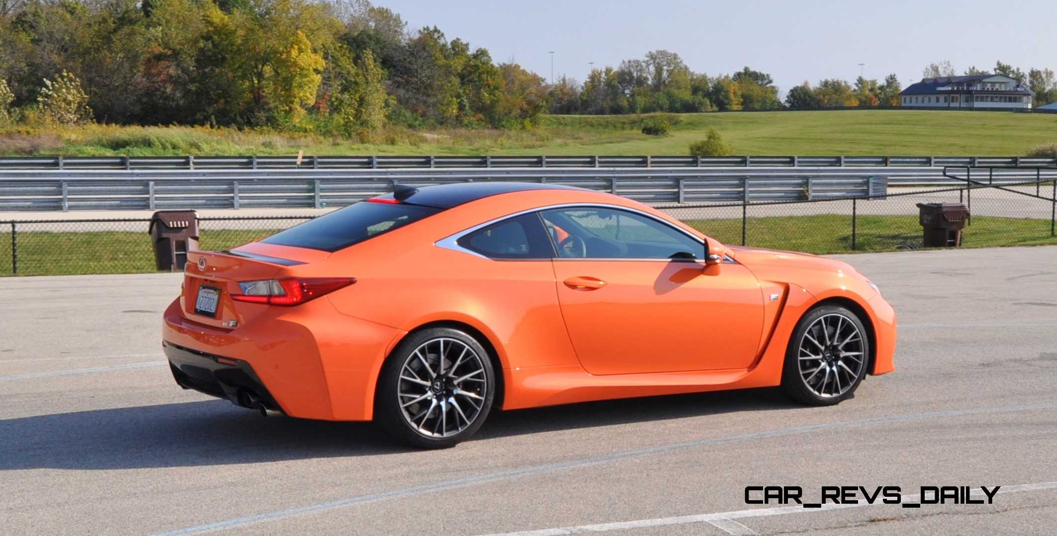 track drive review 2015 lexus rcf is roaring delight around autobahn country club 39. Black Bedroom Furniture Sets. Home Design Ideas