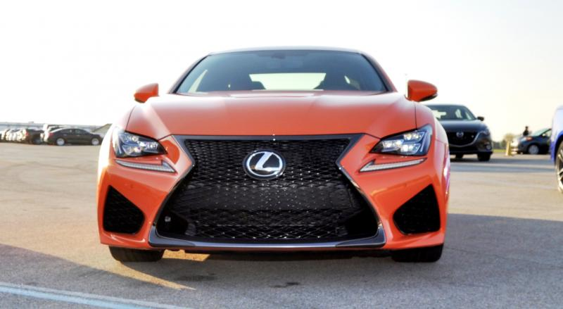 Track Drive Review - 2015 Lexus RCF Is Roaring Delight Around Autobahn Country Club 4