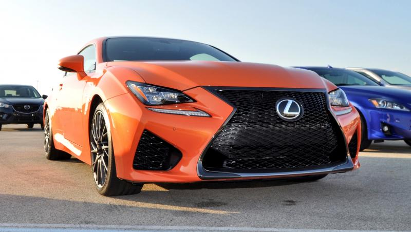 Track Drive Review - 2015 Lexus RCF Is Roaring Delight Around Autobahn Country Club 6