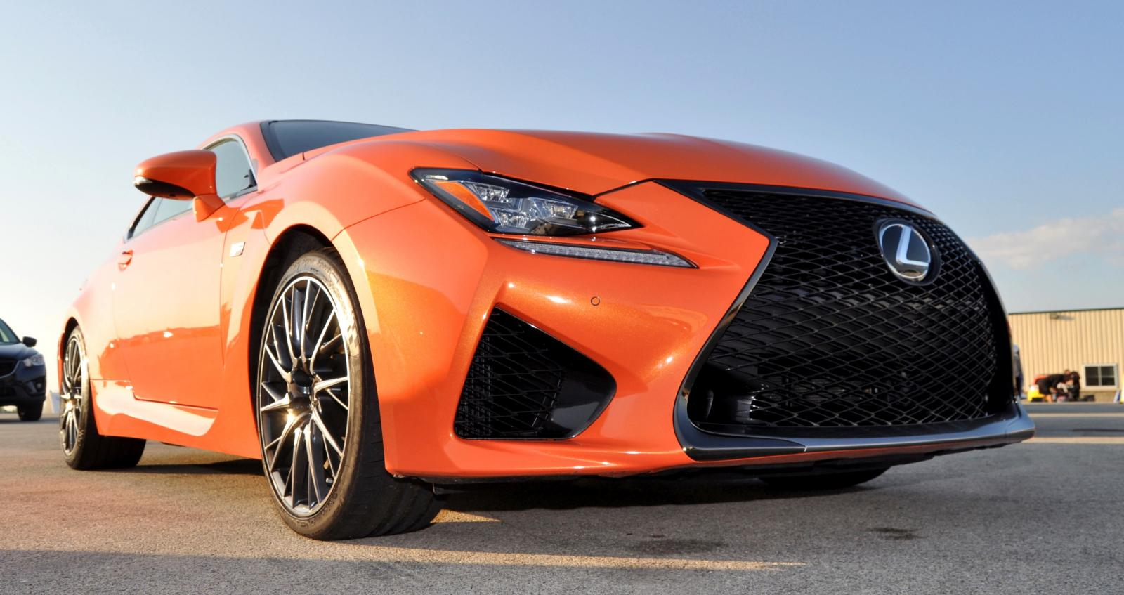 track drive review 2015 lexus rcf is roaring delight around autobahn country club 37 car. Black Bedroom Furniture Sets. Home Design Ideas