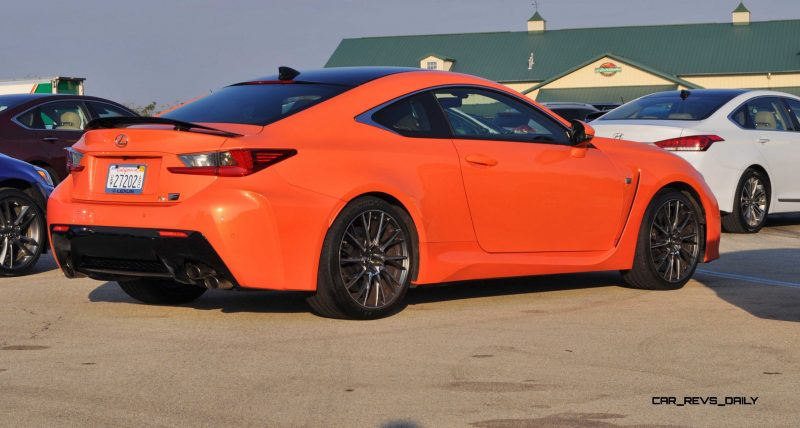 Track Drive Review - 2015 Lexus RCF Is Roaring Delight Around Autobahn Country Club 8