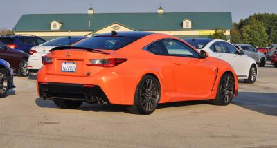 Track Drive Review - 2015 Lexus RCF Is Roaring Delight Around Autobahn Country Club 9