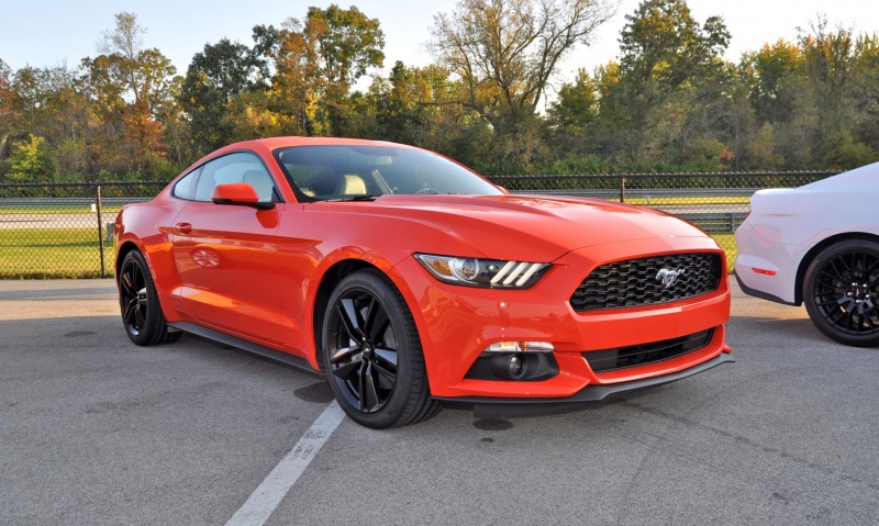 Track Test Review - 2015 Ford Mustang GT in 4K Video 23