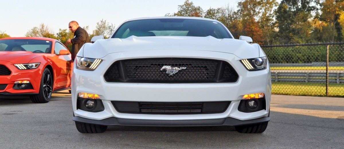 Track Test Review - 2015 Ford Mustang GT in 4K Video 8