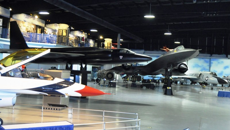 Travel Adventures - Aviation Hall of Fame - U2 Spy Plane and D-21 Recon Drone 1