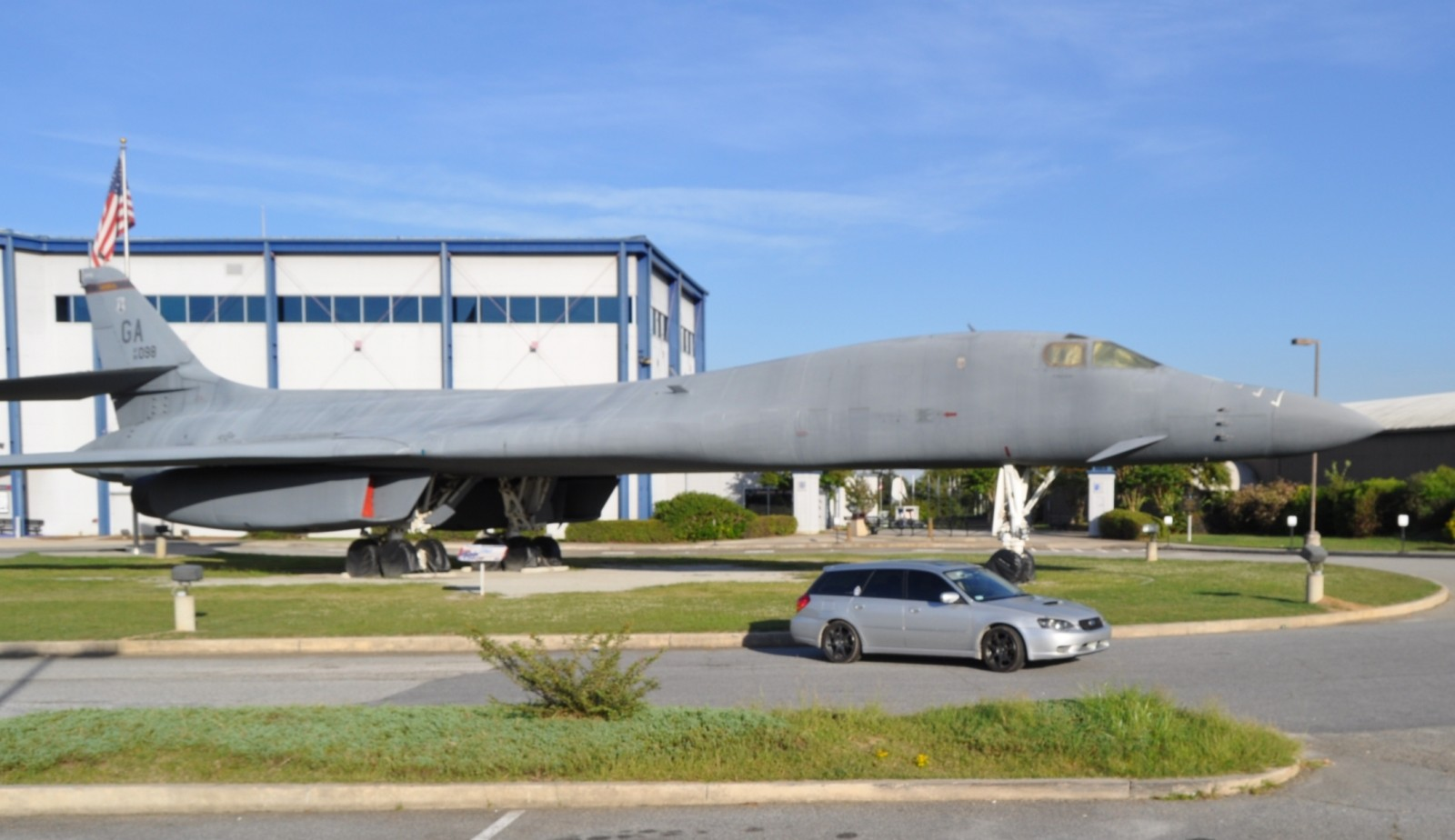Travel Adventures - Robins AFB Aviation Hall of Fame - B1 Bomber 16