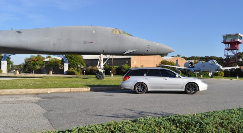 Travel Adventures - Robins AFB Aviation Hall of Fame - B1 Bomber 18