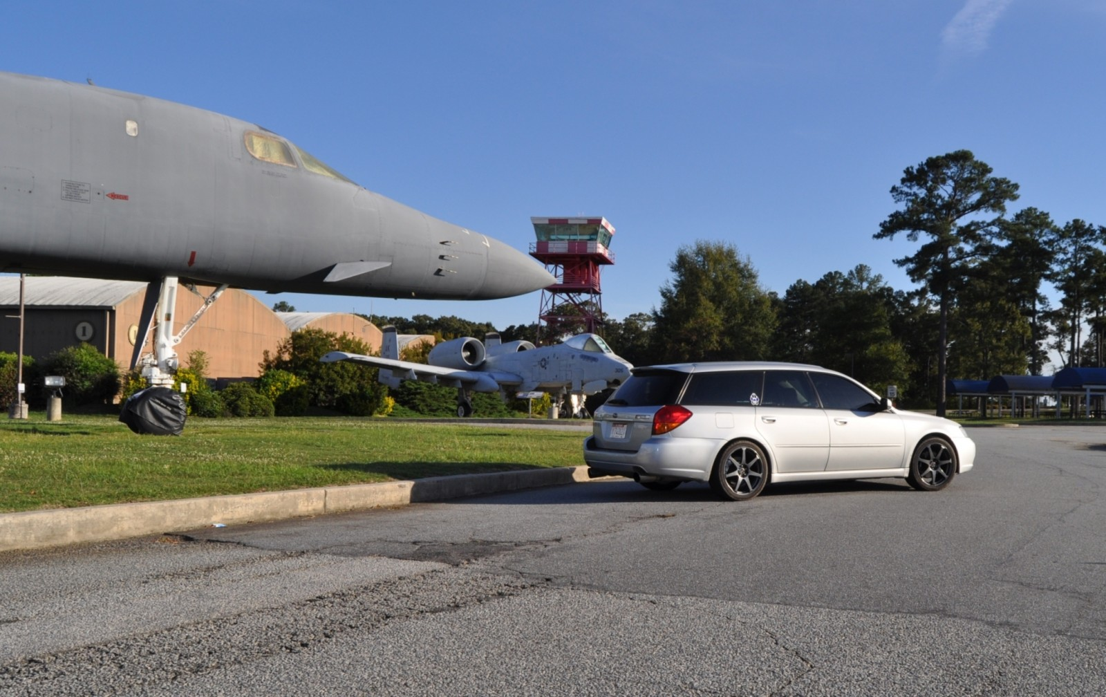 Travel Adventures - Robins AFB Aviation Hall of Fame - B1 Bomber 19