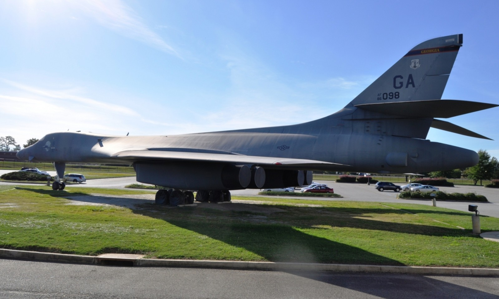 Travel Adventures - Robins AFB Aviation Hall of Fame - B1 Bomber 22