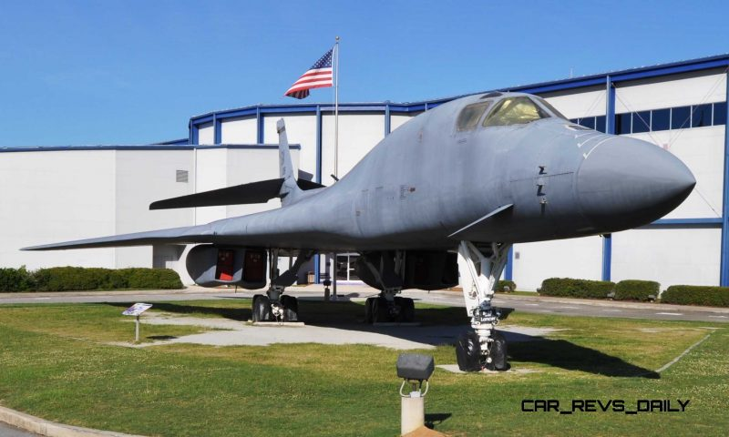 Travel Adventures - Robins AFB Aviation Hall of Fame - B1 Bomber 26