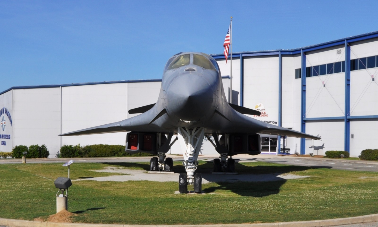Travel Adventures - Robins AFB Aviation Hall of Fame - B1 Bomber 28