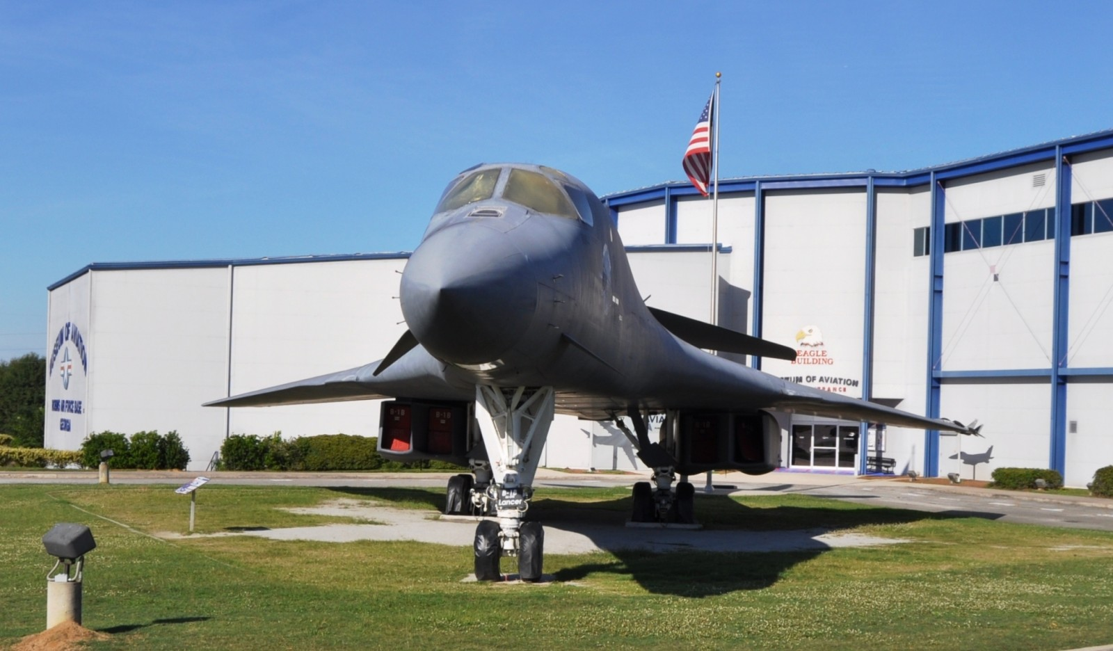 Travel Adventures - Robins AFB Aviation Hall of Fame - B1 Bomber 29