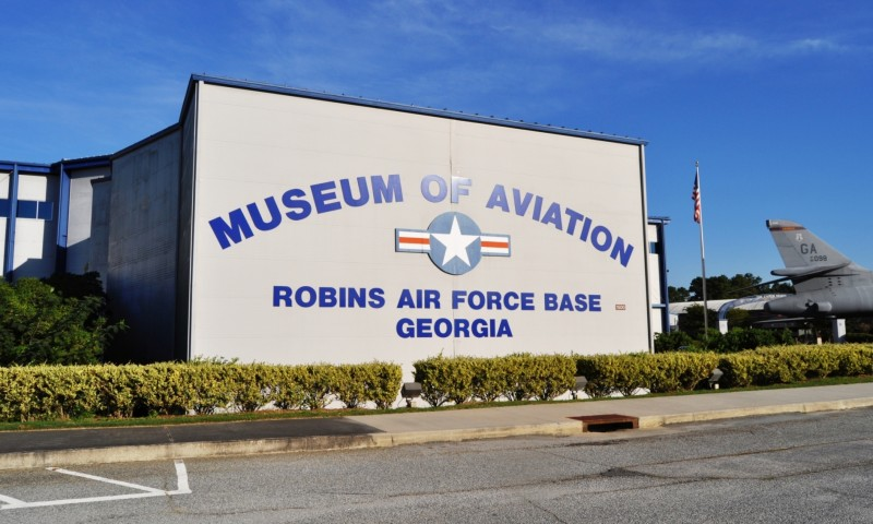 Travel Adventures - Robins AFB Aviation Hall of Fame - B1 Bomber 7