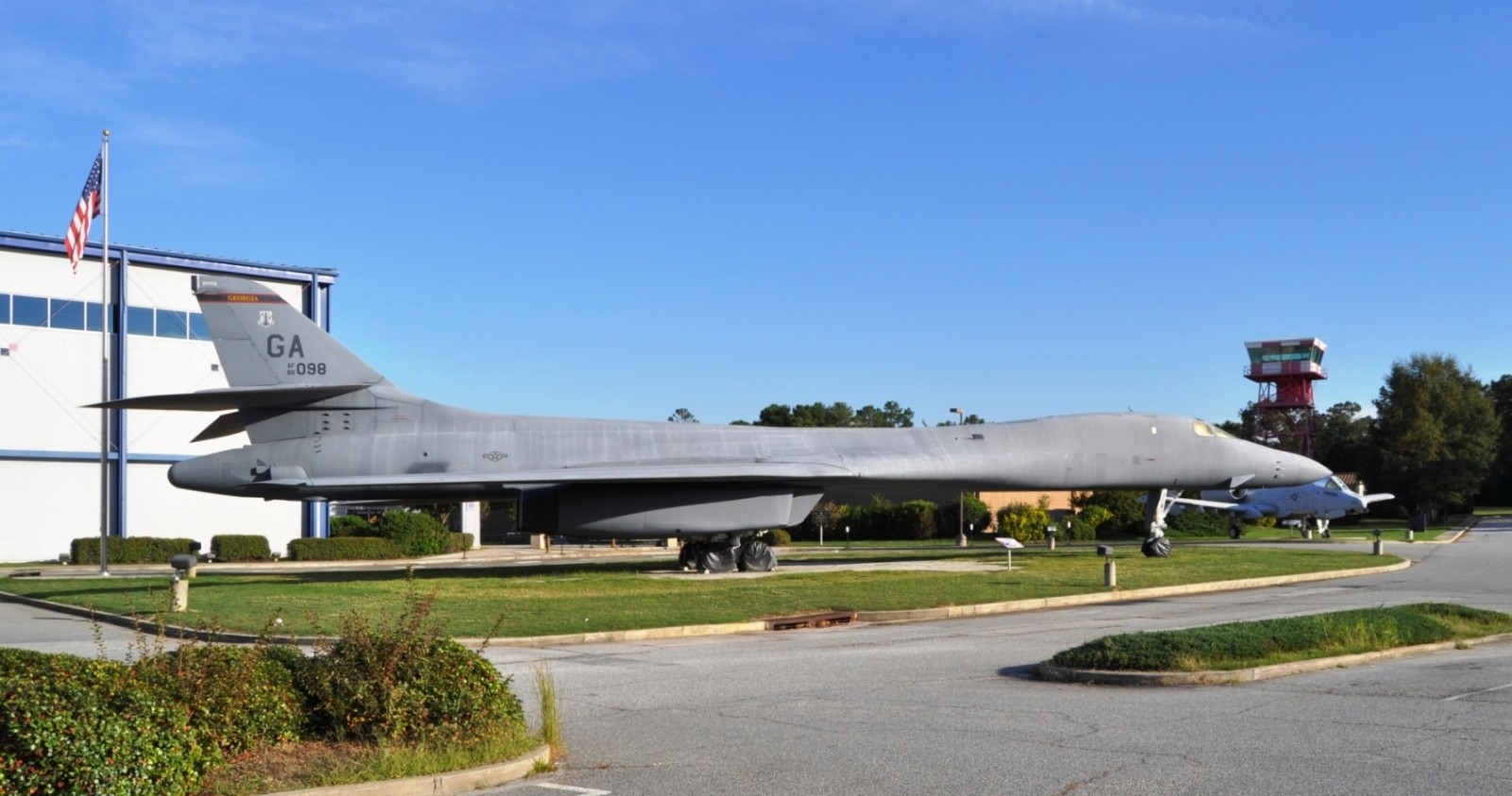 Travel Adventures - Robins AFB Aviation Hall of Fame - B1 Bomber 9