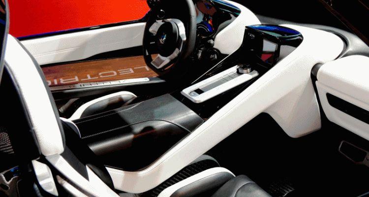 Venturi America SUV interior gif
