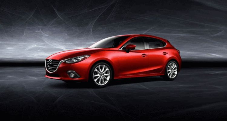 mazda3 red spinner gif