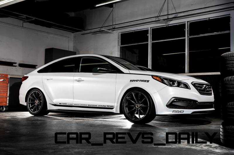 Sema 2014 2015 Hyundai Sonata By Bisimoto And Sonata Jp