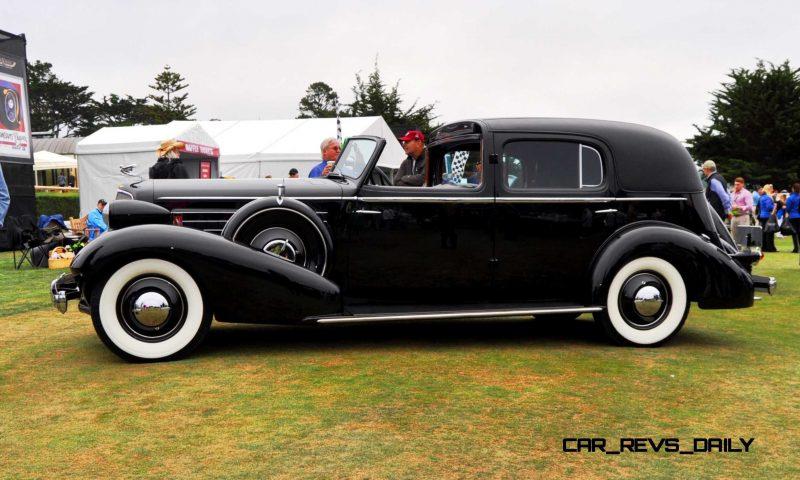1935 Cadillac 370D Fleetwood V12 Town Cabriolet 1