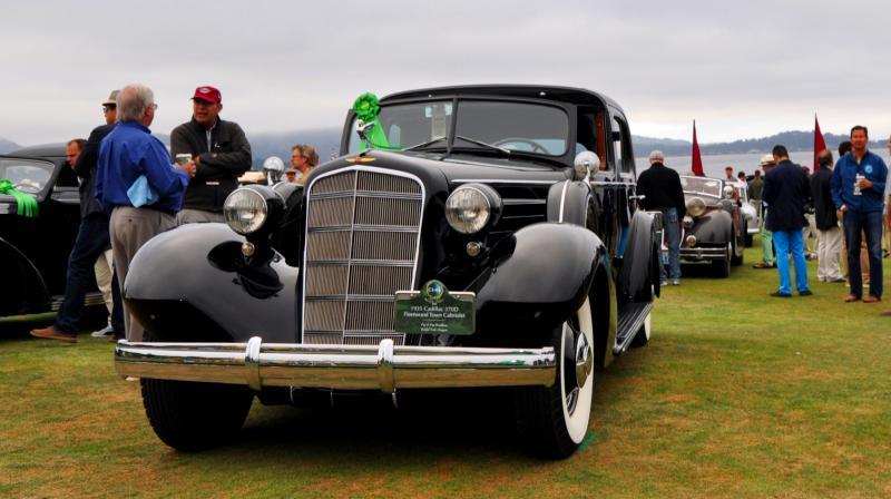 1935 Cadillac 370D Fleetwood V12 Town Cabriolet 11