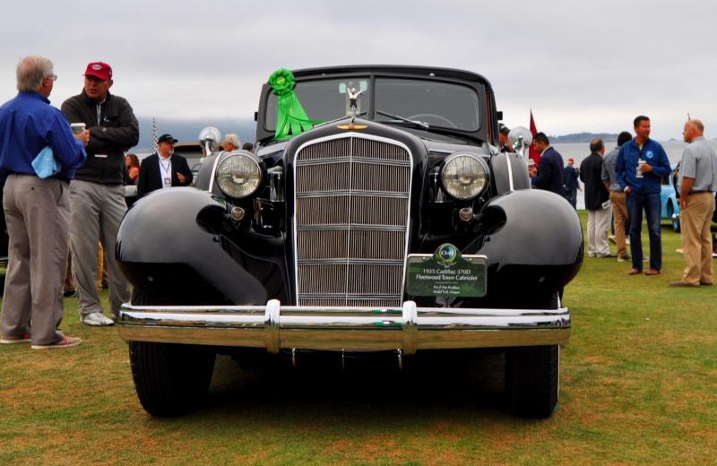 1935 Cadillac 370D Fleetwood V12 Town Cabriolet 13