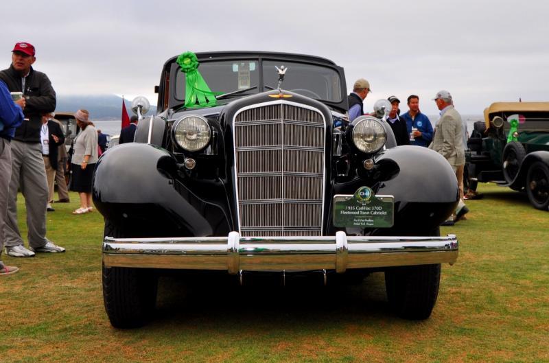 1935 Cadillac 370D Fleetwood V12 Town Cabriolet 15