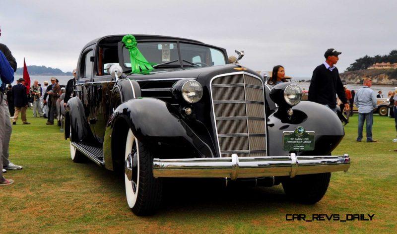 1935 Cadillac 370D Fleetwood V12 Town Cabriolet 17
