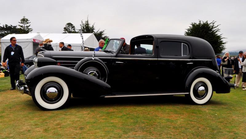1935 Cadillac 370D Fleetwood V12 Town Cabriolet 2