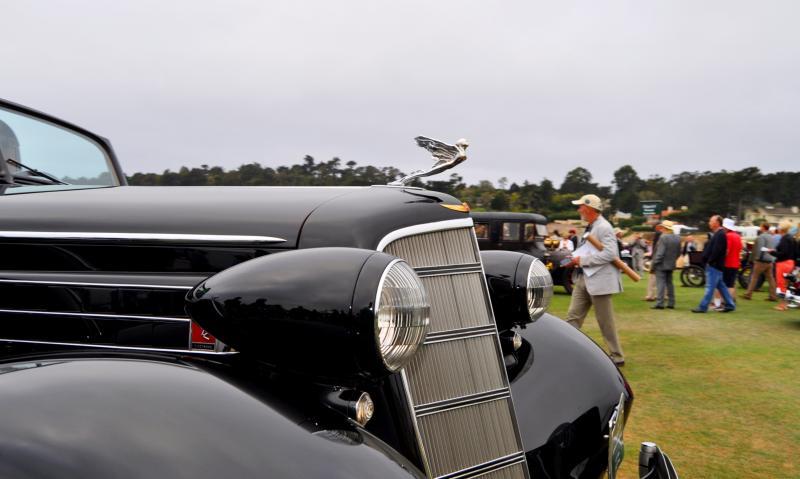 1935 Cadillac 370D Fleetwood V12 Town Cabriolet 21