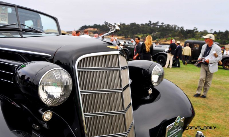 1935 Cadillac 370D Fleetwood V12 Town Cabriolet 22