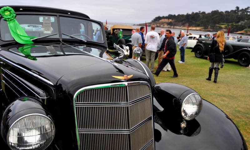 1935 Cadillac 370D Fleetwood V12 Town Cabriolet 24
