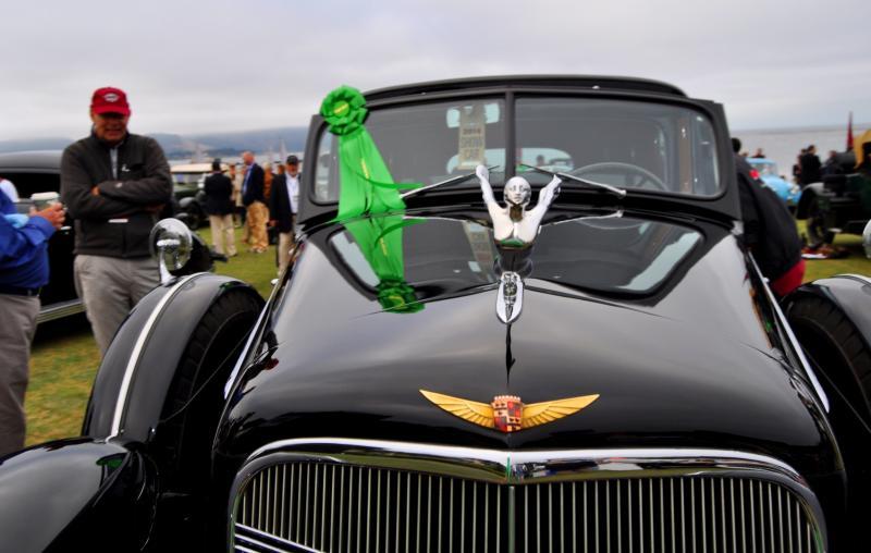 1935 Cadillac 370D Fleetwood V12 Town Cabriolet 28
