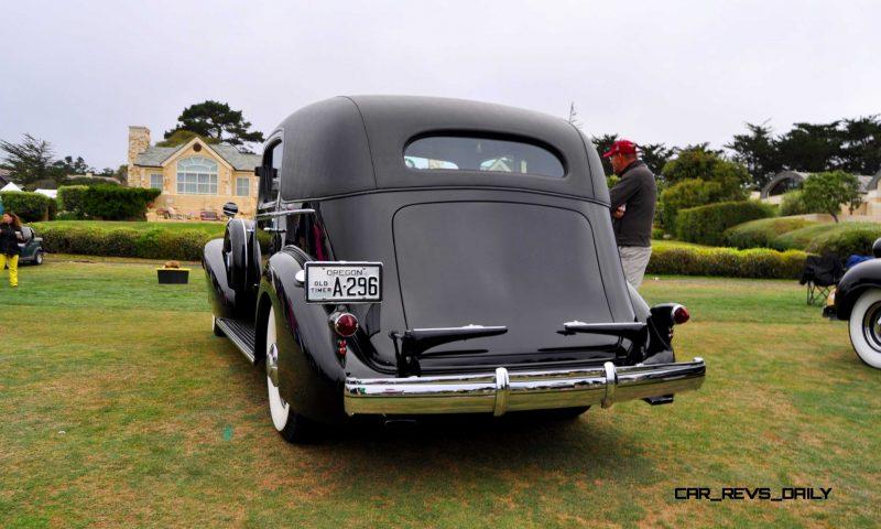 1935 Cadillac 370D Fleetwood V12 Town Cabriolet 36