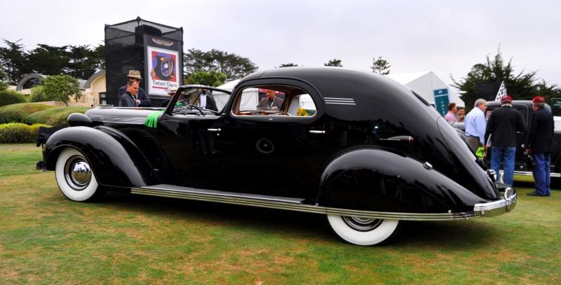1935 Cadillac 370D Fleetwood V12 Town Cabriolet 39
