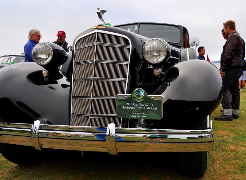 1935 Cadillac 370D Fleetwood V12 Town Cabriolet 41