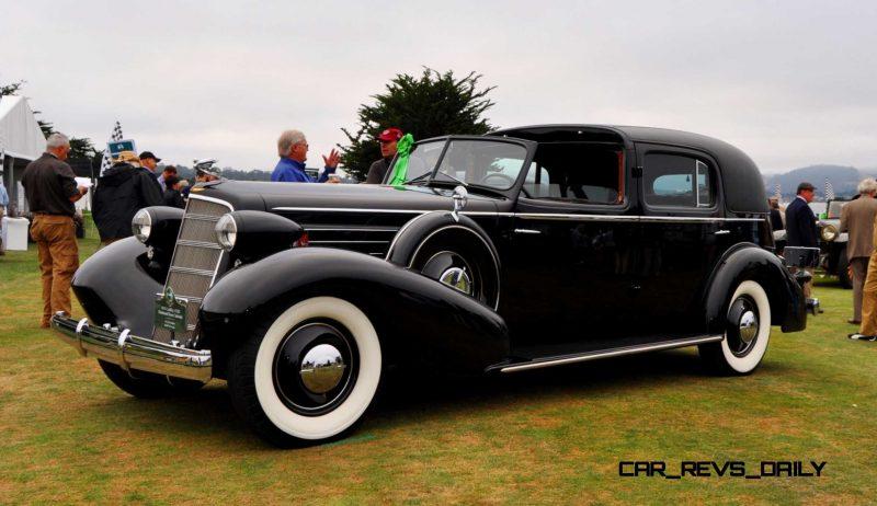 1935 Cadillac 370D Fleetwood V12 Town Cabriolet 6