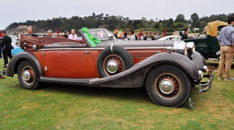 1936 Horch Auto Union 853 Cabriolet  1