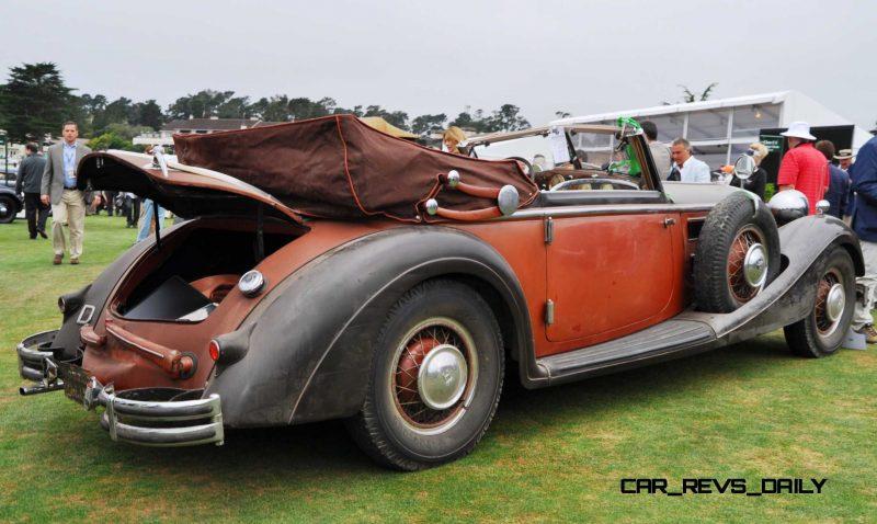 1936 Horch Auto Union 853 Cabriolet  17