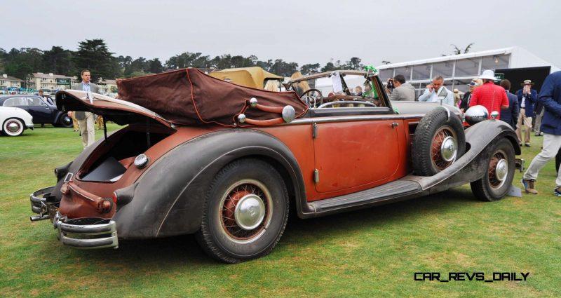 1936 Horch Auto Union 853 Cabriolet  18