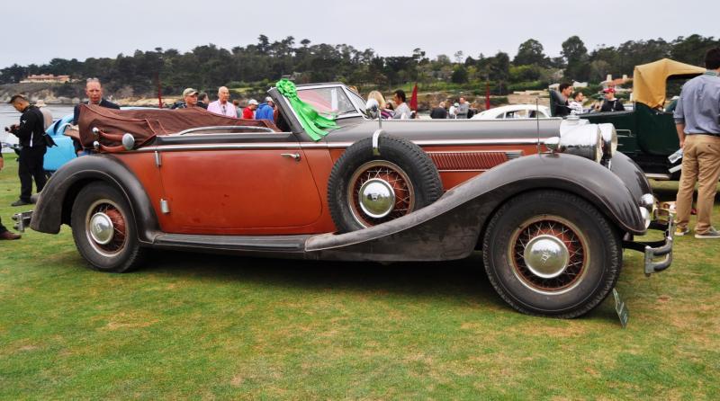 1936 Horch Auto Union 853 Cabriolet  2