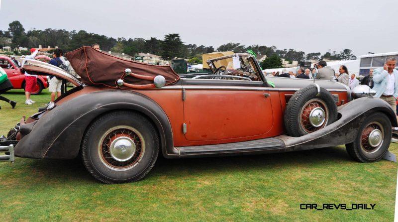 1936 Horch Auto Union 853 Cabriolet  21