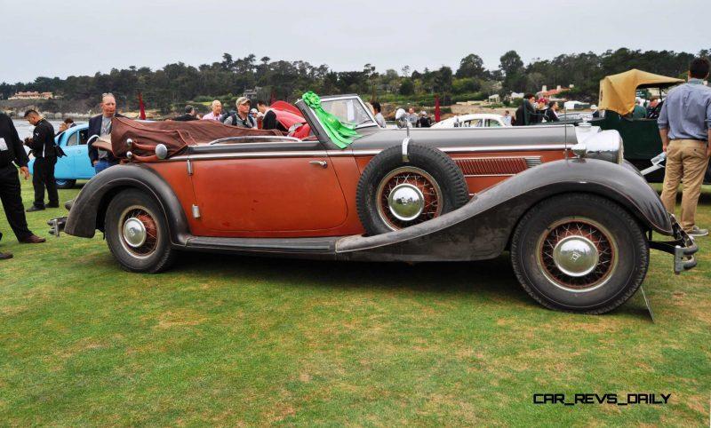 1936 Horch Auto Union 853 Cabriolet  3