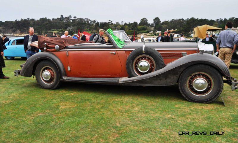 1936 Horch Auto Union 853 Cabriolet  4