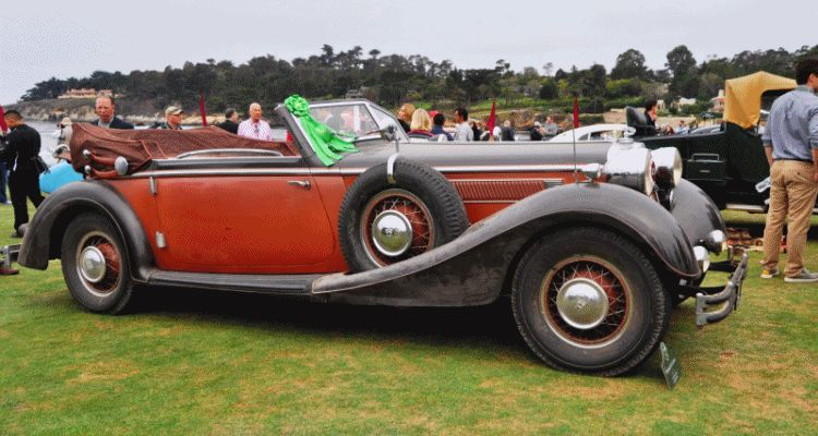 1936 Horch Auto Union 853 Cabriolet gif