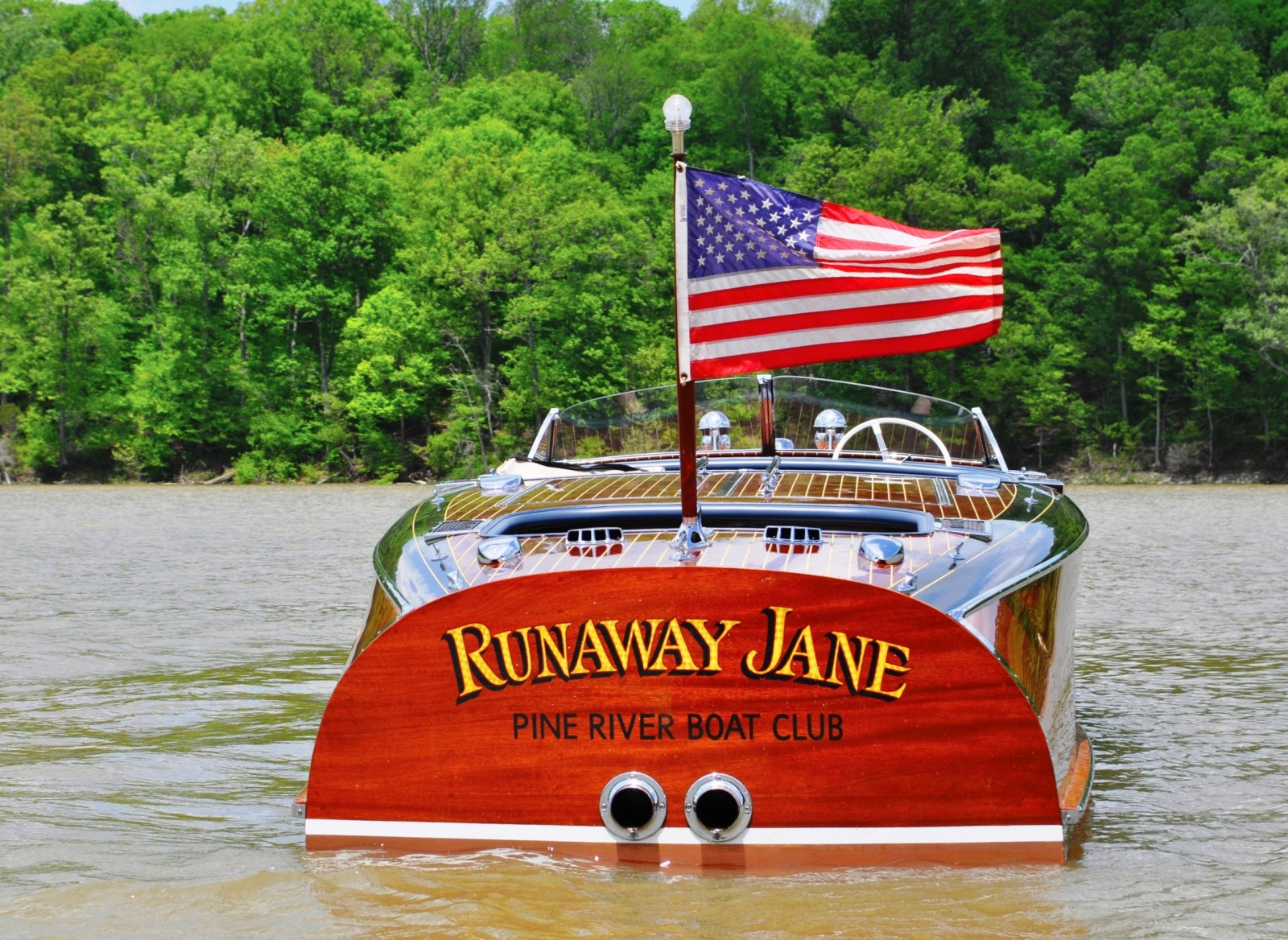 1941 Chris-Craft 27' Runaway Jane Barrel Back 19