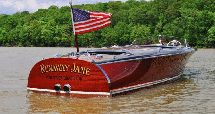 1941 Chris-Craft 27' Runaway Jane gif