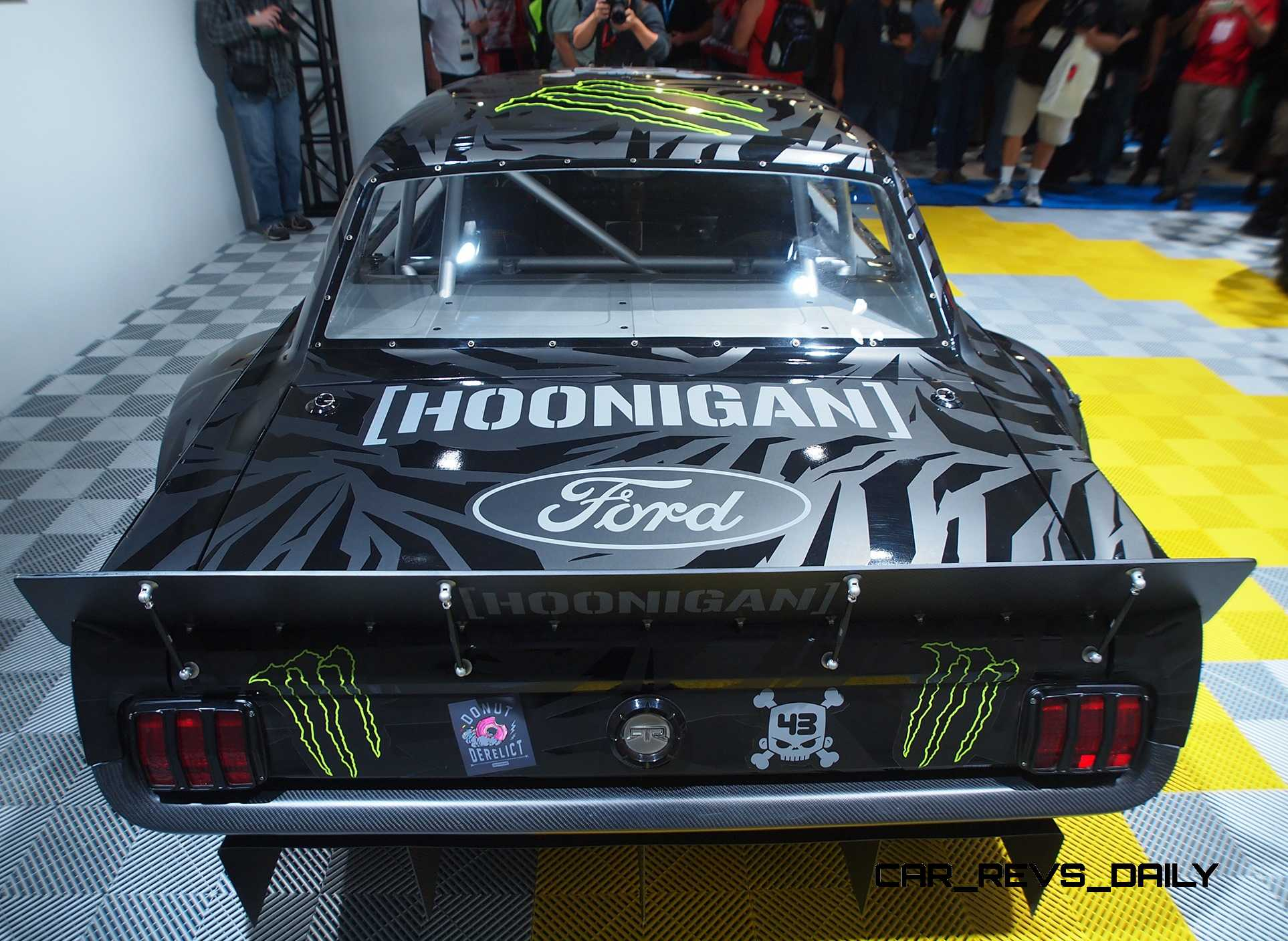 1965 ford mustang hoonicorn by rtr and autosport dynamics