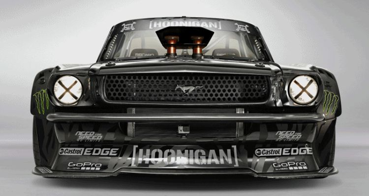1965 Ford Mustang HOONICORN By RTR and Autosport Dynamics gif