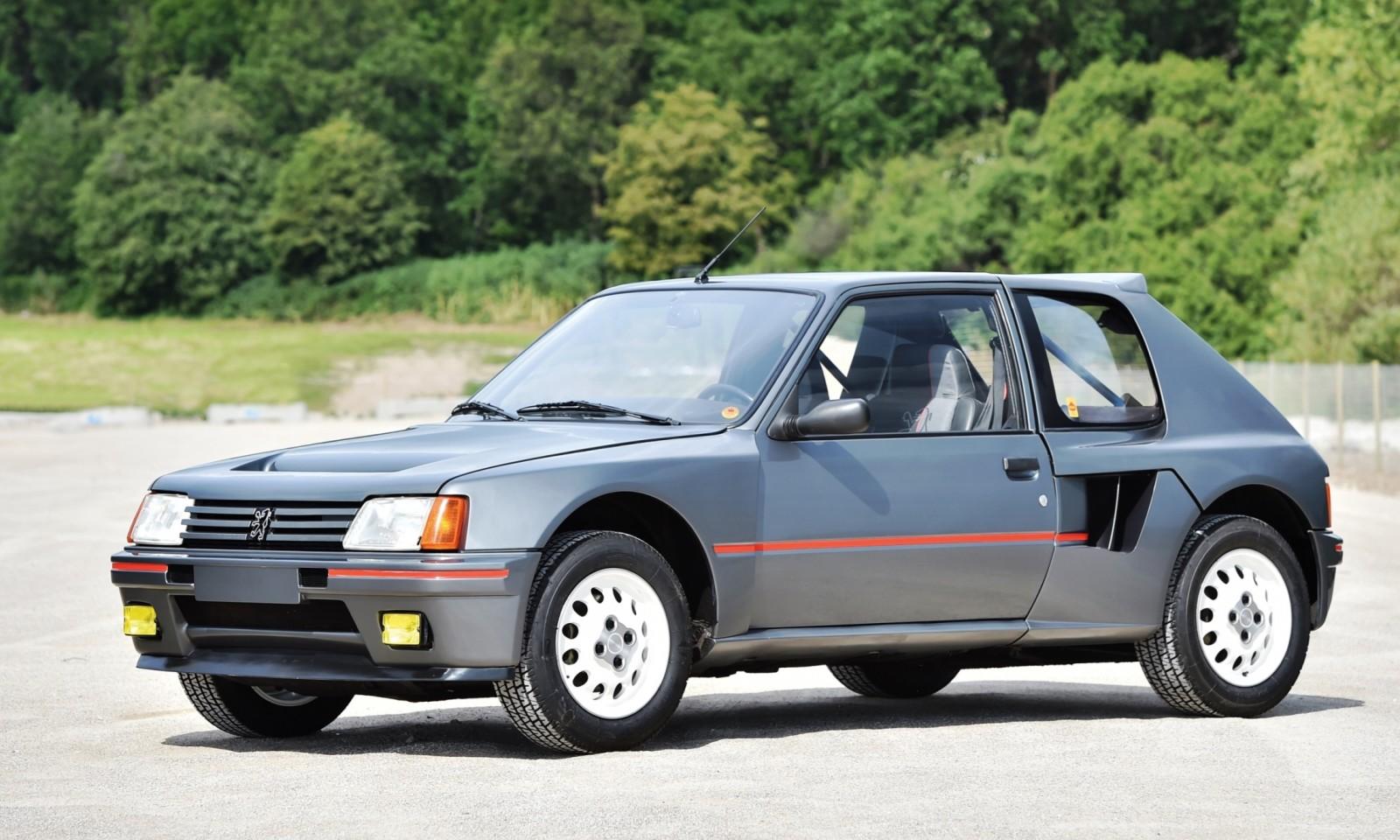 1984 Peugeot 205 Turbo 16 1