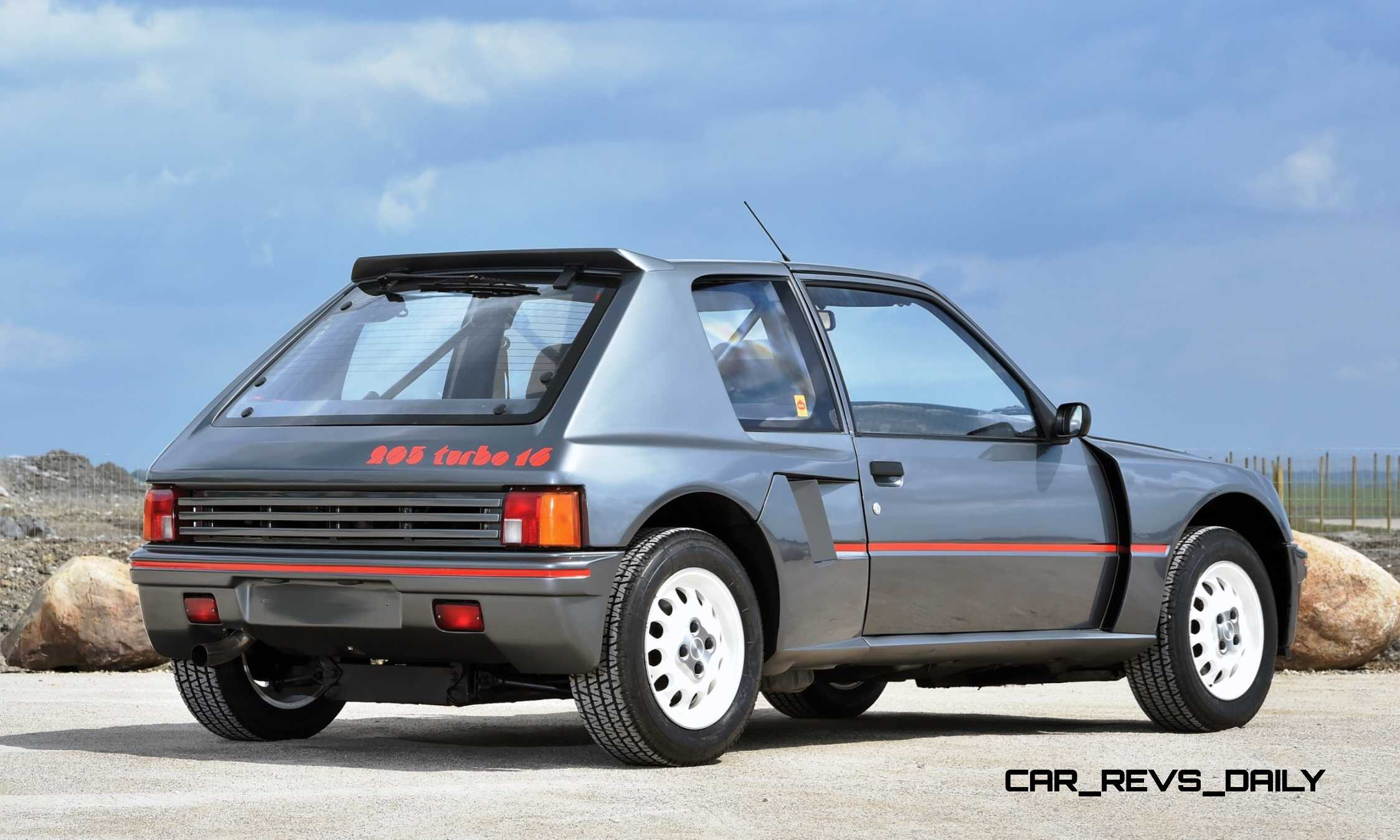 1984 Peugeot 205 Turbo 16 Is Most Valuable Post War Pug